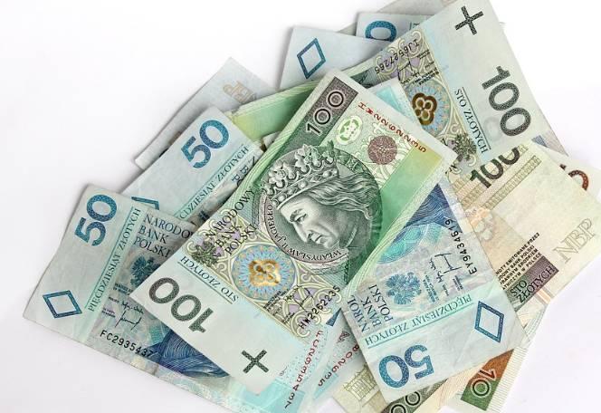 Pieniądze z odszkodowania
