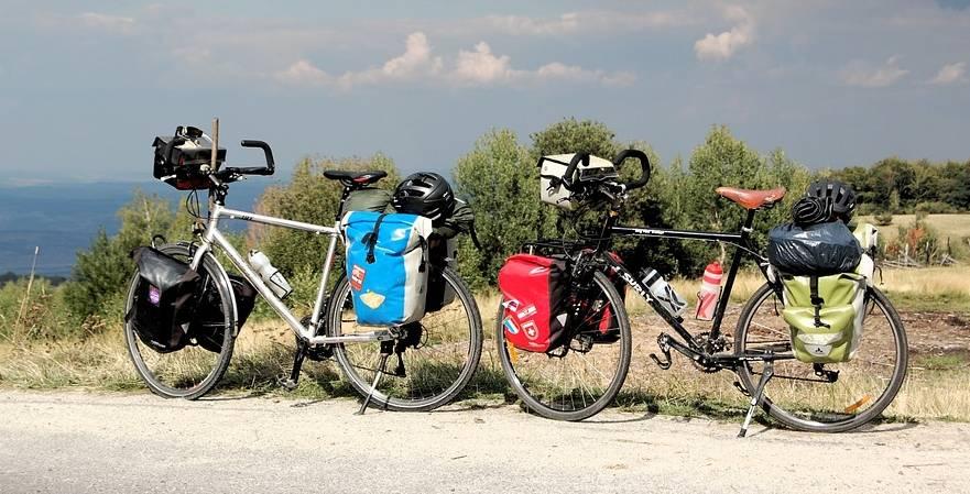 Nowocześnie wyposażone rowery