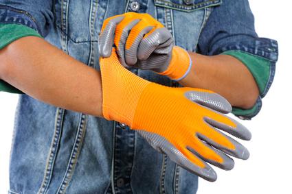 Rękawice ochronne powlekane