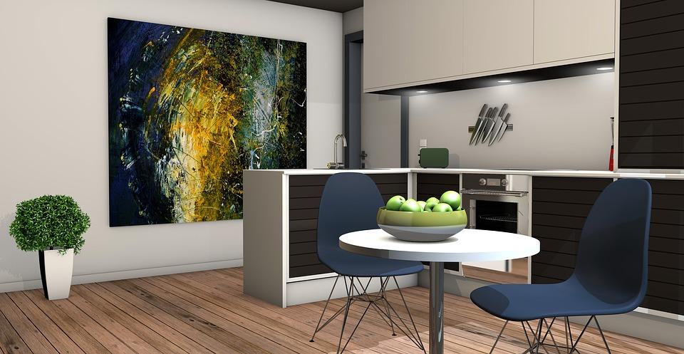 piękne wnętrze - aranżacja kuchni