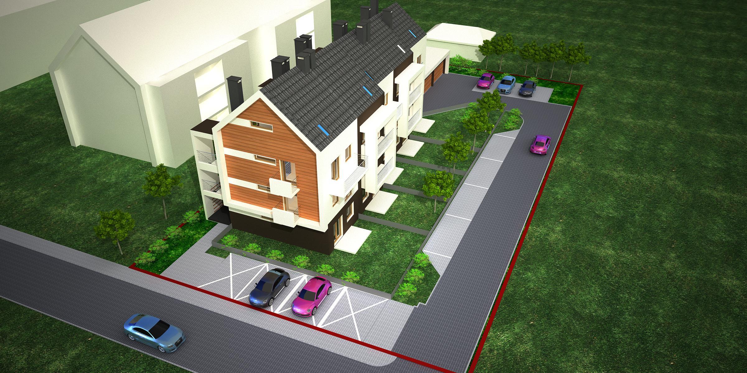 mieszkanie z ogródkiem Kiełczów